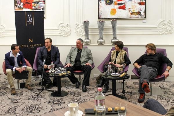 Bódy Gergő, Feke Pál, Faragó András, Karafiáth Orsolya és Szabó Győző (forrás: Nemzeti Művész Klub)